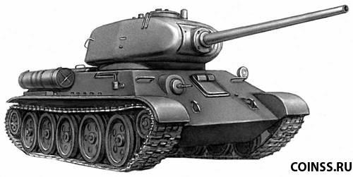 Танк Т-34 Танк Боевая масса Размеры Экипаж Вооружение Боекомплект ...