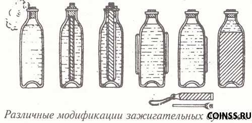 Бутылка с зажигательной смесью